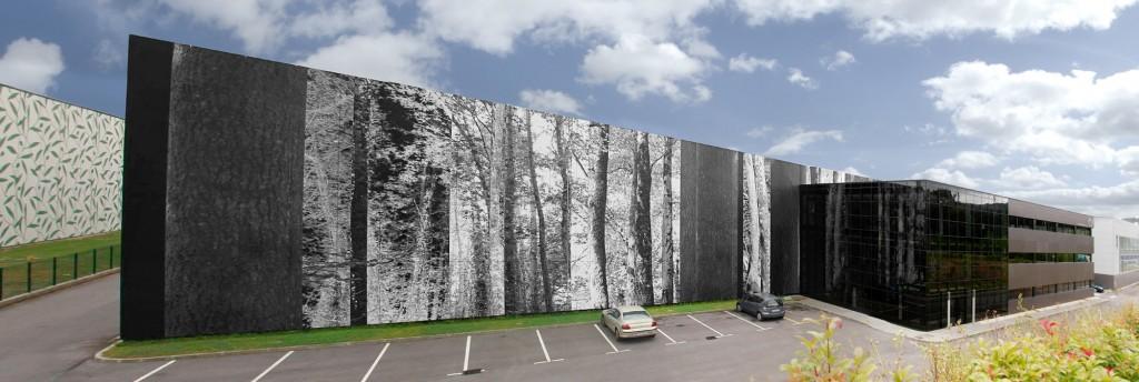 Mural Celulosas Vascas | Jesus Jauregui