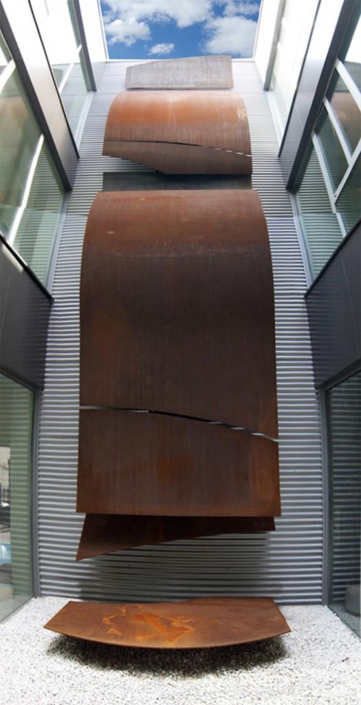 Escultura Valvospain | Jesus Jauregui
