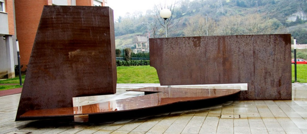 Escultura Banco BBV | Jesus Jauregui